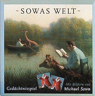 s Geschichten 13 x 13 x 4 cm • 40036 ''Memo Sowas Welt'' von Inkognito • Künstler: INKOGNITO © Michael Sowa • Memo-Spiele • Games ()