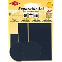 Kleiber 5-Piece Self Adhesive Nylon Clothing Repair Patch Set