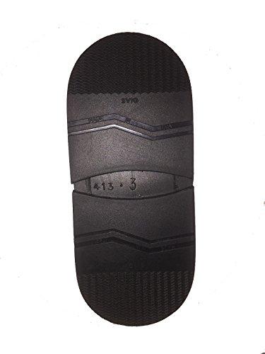 Tacchi per riparazione scarpe da uomo in gomma Svig comfort grip resistenza, Marca: Svig, Colore: Nero, Misura: 3