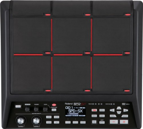 Roland Sample Pad, 4GB Internal Memory and 9 In-Built Pads (SPD-SX) - Roland E-drum