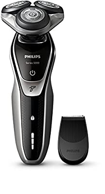 Philips S5320/06 Series 5000 Electric Shaver with Smart Click Precision Trimmer and Turbo Function