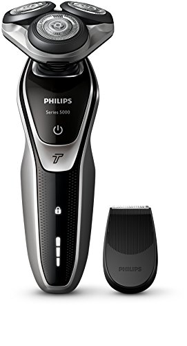 41TkNar7W0L - BEST BUY #1 Philips S5320/06 Series 5000 Electric Shaver with Smart Click Precision Trimmer and Turbo Function Reviews and price compare uk