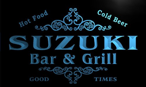 u43967-b-suzuki-family-name-bar-grill-home-decor-neon-light-sign-barlicht-neonlicht-lichtwerbung