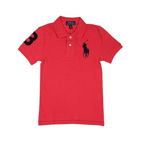 Ralph Lauren Childrenswear Polo in piqué di Cotone Custom-Fit Bambino Junior Boy Mod. 323694738 - Junior Lauren Ralph Polo-shirt