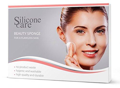 Nuovo. Original Sili Cone Care® Beauty Sponge-Silicone Make Up Spugna/Blender per un risultato perfetto. In forma di goccia per tutte le zone di viso.