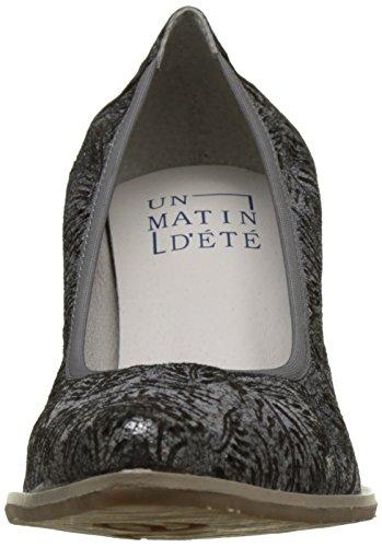 Un Matin d'Eté - Nazeto, Scarpe col tacco Donna Noir (Ch Sum Lase Palme/Ch Sum)