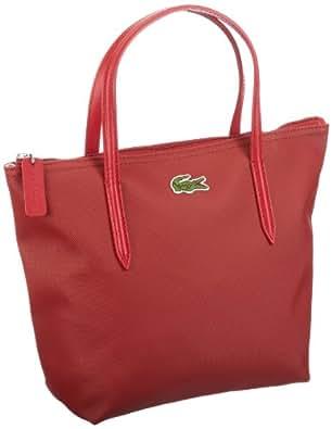 Lacoste SMALL SHOPPING BAG NF0276PO Damen Shopper 22x23x11 cm (B x H x T), Rot (FORMULA ONE 055)