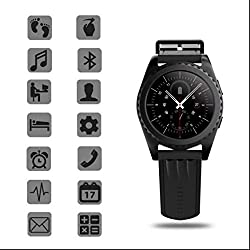 Remote Control Camera Smartwatch,heart Rate Monitor Smartwatch,fitness Smartwach Smartwatch For Apple Samsung Htc Iphone,gps Sport Fitness Smartwatch