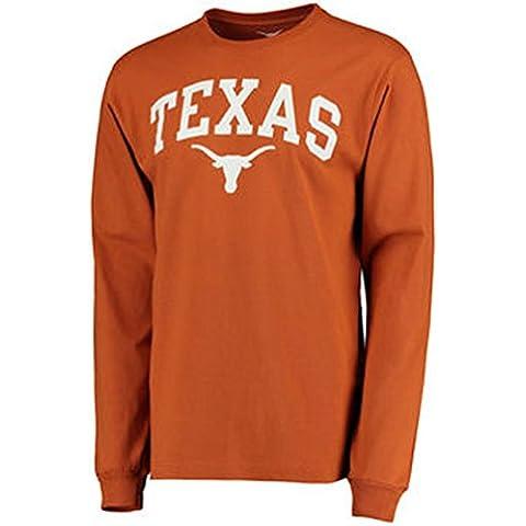 Texas Longhorns–Camiseta Jersey Gorro Bandera de vinilo Memorabilia ropa Apparel, naranja, xx-large