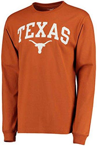 Texas Longhorns-Shirt Mütze Jersey Flagge Aufkleber Kuriositäten Kleidung Bekleidung Größe L (Herr Der Ringe Party Supplies)