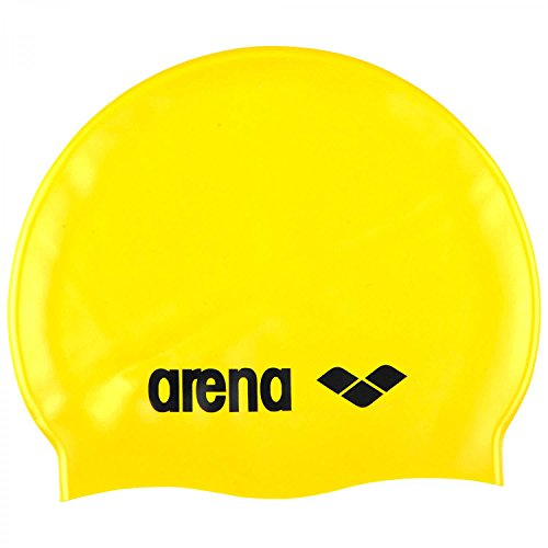 arena Badekappe Classic Silicone 91662 Yellow/Black One Size