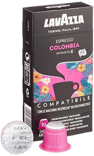 Lavazza Espresso Colombia 10 Kapseln, Nespresso kompatibel, 5er Pack (5 x 53 g)