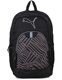 b85689ad5ad14 Puma Echo Black Polyester Casual Backpack