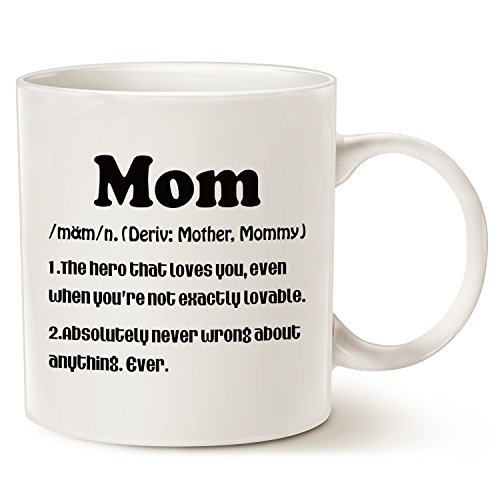 Christmas Gifts For Moms.Christmas Gifts Mom Definition Funny Kaffee Tasse Weihnachten Oder Geburtstag Geschenk Idee Fur Mom Porzellan Tasse Weiss 14 Oz