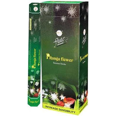 Flauta Hexa–Varillas de incienso Pitanga Flores