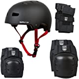 Shaun White Supply Co. 4 in 1 Combo Helmet and Pads