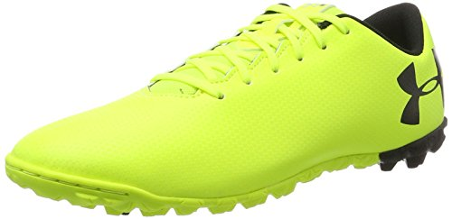 Under Armour Herren UA Force 3.0 TF Fußballschuhe, Gelb (High-Vis Yellow), 44 EU