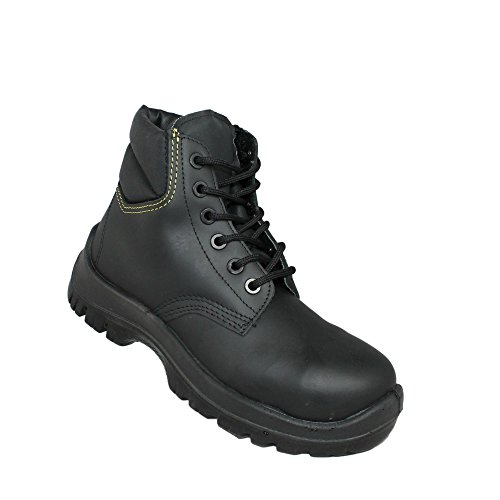 Aimont workers s3 sRC chaussures berufsschuhe businessschuhe chaussures de trekking (noir) Noir - Noir