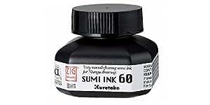 Kuretake Zig Cartoonist Manga Sumi Ink 60ml Bottle Black CNCE103-6 from Japan
