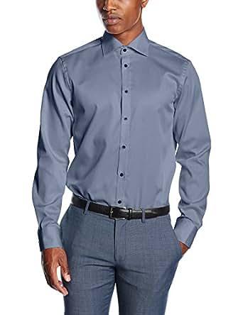 Venti Herren Businesshemd 001800 Blau (Blau 100), Kragenweite: 36 (Herstellergröße: 36)