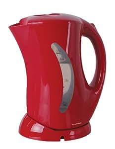 Lloytron Cordless Kettle, 1.7 Litre, 2.2 Kilowatt, Red
