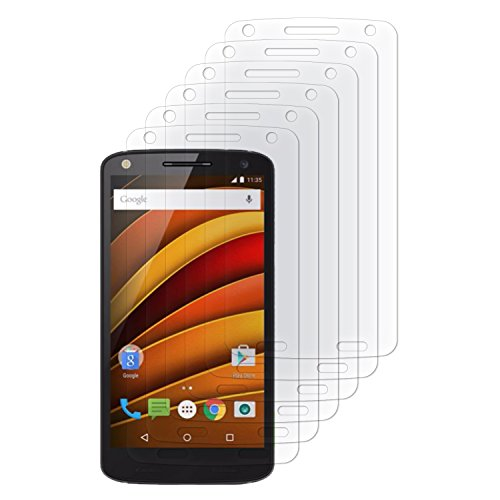 ien Schutzfolien 6X Displayfolien Klar für Motorola Moto X Force ()