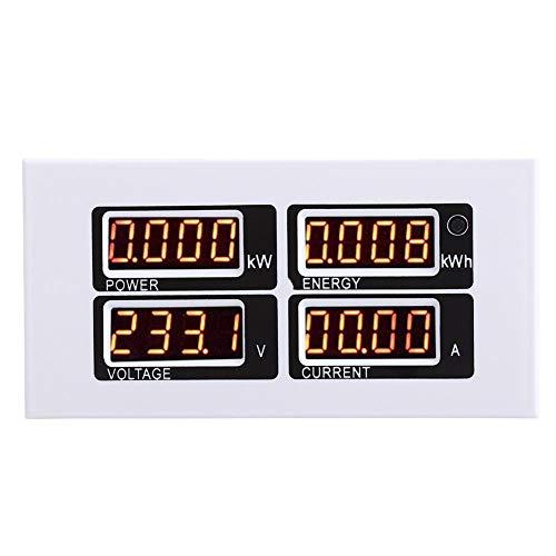Ct-scanner (AC 80-260V / 100A Strom Spannungsprüfer Elektrische Überwachung Multimeter mit CT USB Adapter)