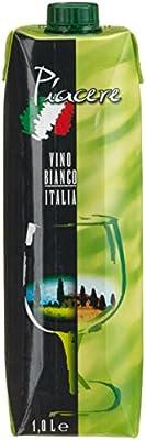 Piacere Vino da Tavola Bianco (12 x 1 l)