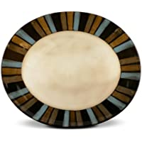 Pfaltzgraff Cayman Oval Serving Platter, 14-Inch by Pfaltzgraff