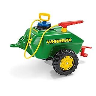 Rolly Toys 122868 rollyVacumax Anhänger, Tanker befüllbar, inkl. Pumpe mit Sptitze und Auslaufhahn, kleiner, stabiler, flexibler Fassanhänger, ab 3 Jahren, Farbe grün (B0002HZQKU)   Amazon Products