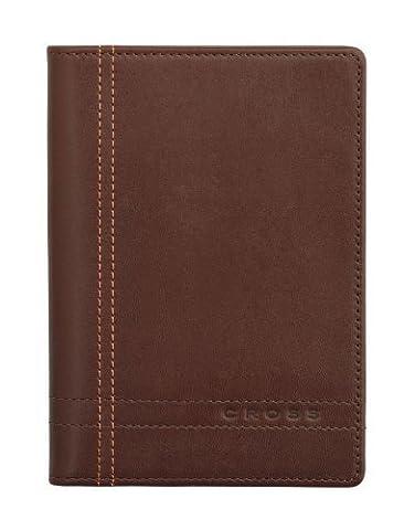 Cross Edition Legacy Full Grain Italian Brown Leather Medium Agenda by A .T CROSS COMPANY
