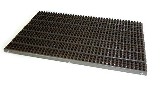 Preisvergleich Produktbild SANZO PRO Bürstenmatte Fußabtreter Wetterfest außen 50cm x 32cm