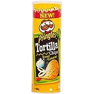 Pringles Tortilla Sour Cream & Onion 180g