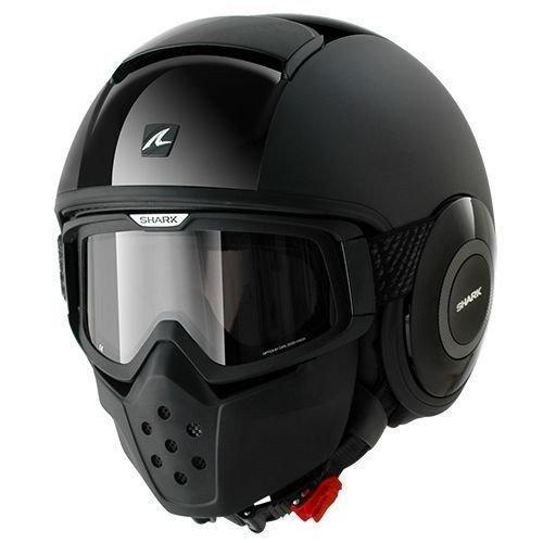 Shark casco de moto Drak Dual, negro, talla M
