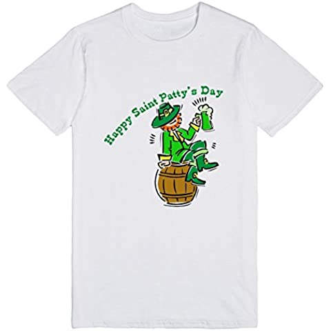 New Mens Happy Saint Patrick's Day Man Exclusive Quality T-shirt for Men