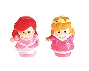 Fisher-Price Little People Disney 2 Pack: Ariel & Aurora