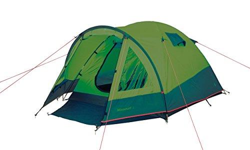 Camp Gear 4471525Zelt Unisex Erwachsene, Grün/Grau