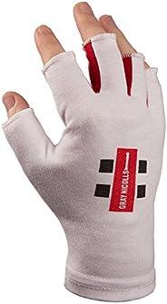 Gray-Nicolls 5209020 Men Inner Pro Fingerless Bat Jun Gloves - White, Medium