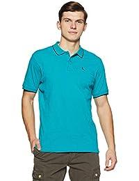 Parx Men's Plain Regular Fit Polo