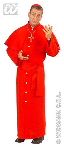 Erwachsene Kardinal Für Kostüm - Rotes Kardinal Kostüm Priester Cardinal Größe XL