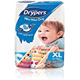 Drypers Wee Wee Dry Extra Large Sized Diapers (50 Counts)(Taped Diaper)