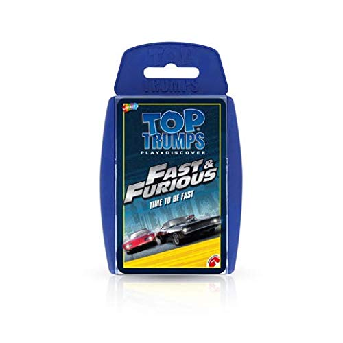 Winning Moves Top Trumps 001496Fast & Furious International Travel Charger Pack