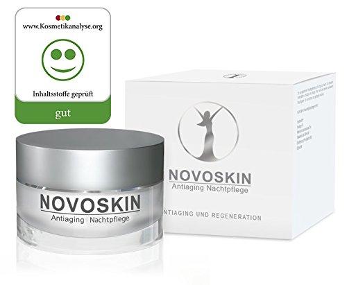 Nachtcreme von NOVOSKIN – NOVOSKIN Antiaging Nachtpflege – Creme mit Ultra-niedermolekularer...