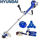 Hyundai 51cc 2-Stroke Anti-Vibration Petrol Grass Trimmer/Strimmer/Brushcutter HYBC5080AV