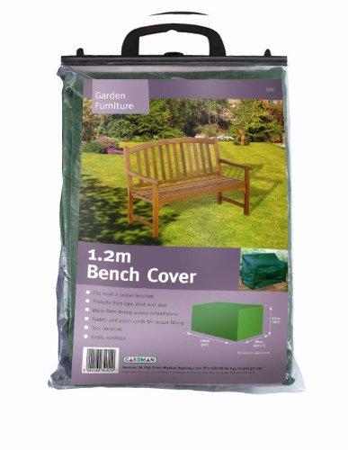 Gardman Abdeckung für Gartenbank (2-Sitzer), hochwertig, 1,2m