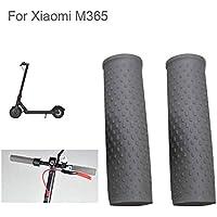 Flycoo 1 par de empuñaduras de Goma para Xiaomi M365 Scooter Eléctrico 12CM Silicona Suave Antideslizante Palanca Protección