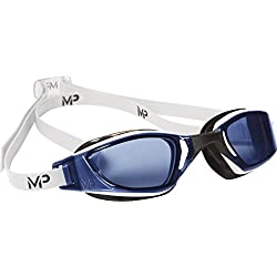 Michael Phelps Xceed-MP-Gafas de natación, color - Blanc/Noir/Blue, tamaño n/a