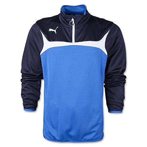 Puma Men's Esito 3 1/4 Zip Training Top (Double-knit A-line)