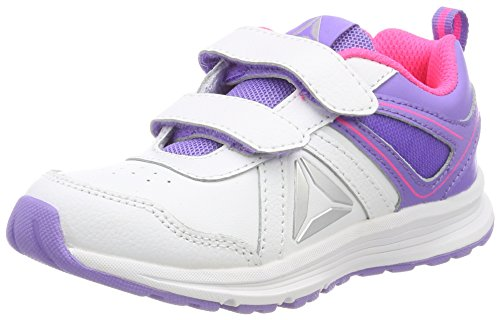 Reebok BD2446, Zapatillas de Trail Running para Niñas, Morado (Aubergine/Peppy Pink/Lavendar/White), 31 EU