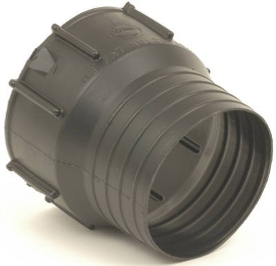 ADVANCED DRAINAGE SYSTEMS - 4-Inch Poly Snap Drain Tube Adapter (Drainage Advanced Systems)